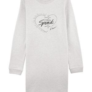 """Long Pullover Kleid """"Spirit"""" naturweiß"""