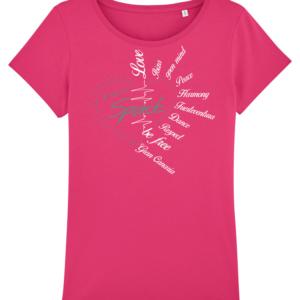 """T-Shirt """"Spirit"""" pink"""