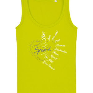 "Tank Top ""Spirit"" grün"